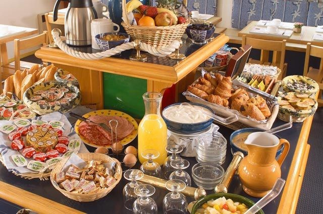 Breakfast Room Hotel Stars Antibes France