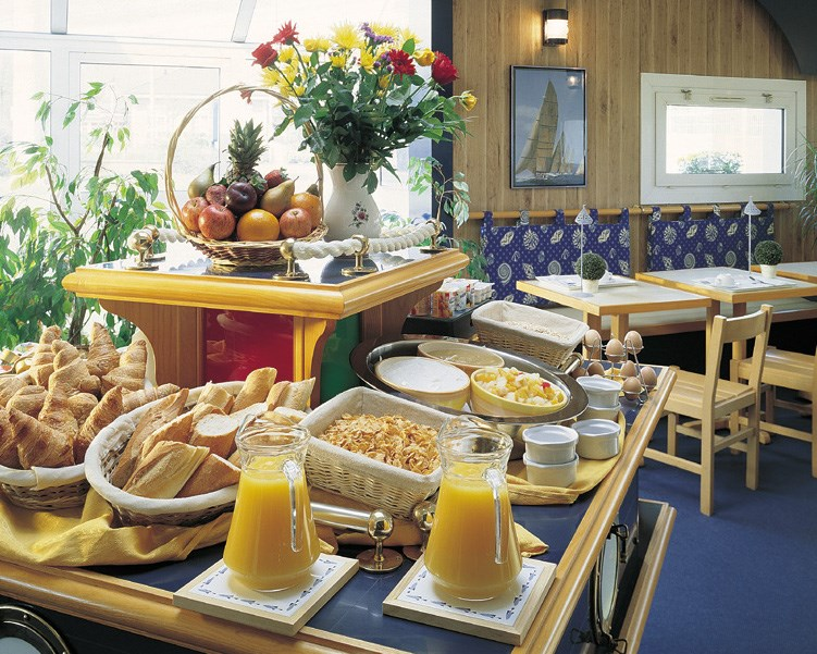 Breakfast Room Hotel Stars Rouen France